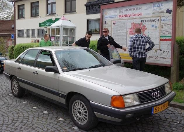 Lid 1060 Audi 100 quattro 1985 - Audiclub